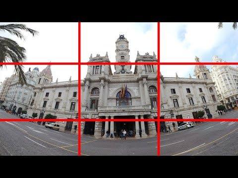 DJI Osmo Pocket Shooting in Pano Mode a 3x3 Panoramic Image