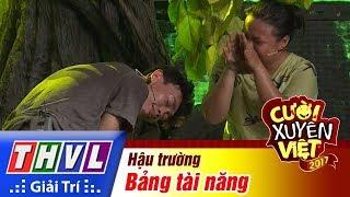 """THVL   Hậu trường Cười xuyên Việt 2017 - Tập 16: Hồng Thanh đòi """"săn"""" Lâm Thắng"""