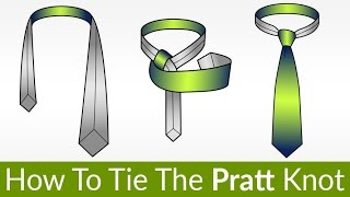 Video How To Tie The Pratt Knot | Tie Knot That's Been Used For 100 Years | Tying Necktie Tutorial download MP3, 3GP, MP4, WEBM, AVI, FLV Agustus 2018