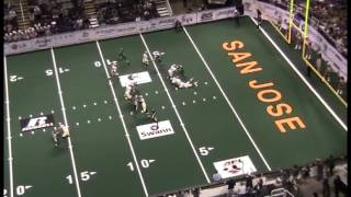 Labrose Hedgemon - DB  #7 - San Jose Sabercats 2012 Arena Football League Highlights