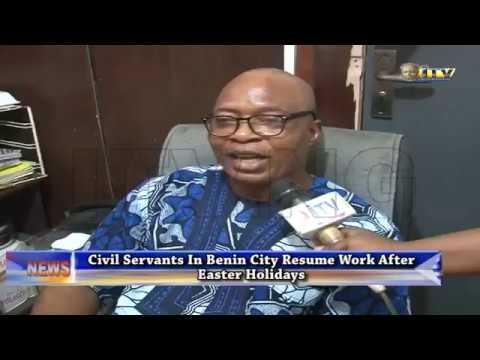 Civil servants resume work after Easter holidays