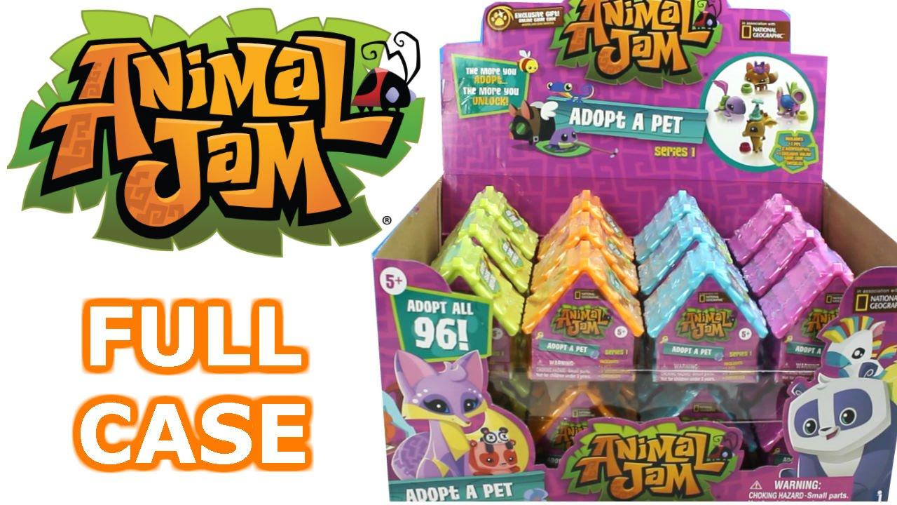 Animal Jam Blind Box Full Case Unboxing Blind Den Opening