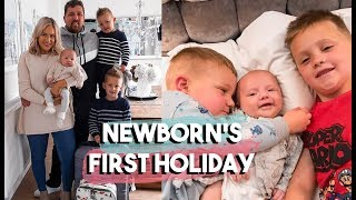 NEWBORN'S FIRST HOLIDAY | FAMILY OF FIVE