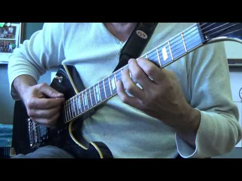 Gary Moore - That Kind Of Woman - Guitar - Chorus Fin - Mesure 4