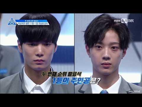 [ENG SUB] Produce 101 S2 EP8 | Kim Jonghyun VS Lai Kuanlin for 1st Place - Second Elimination Round