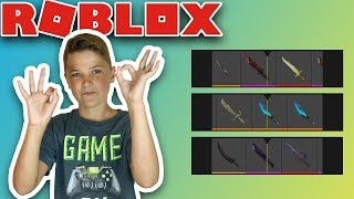 OPENING ELITE CASES AND CRAFTING EXOTIC KNIFE in ROBLOX ASSASSIN