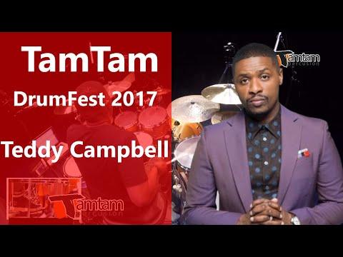 Teddy Campbell - TamTam DrumFest Sevilla 2017 Yamaha Drums