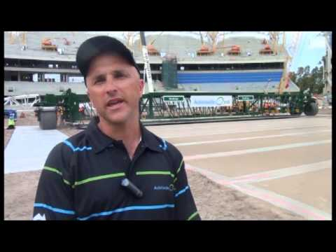 SACA TV: Adelaide Oval drop-in wickets installed