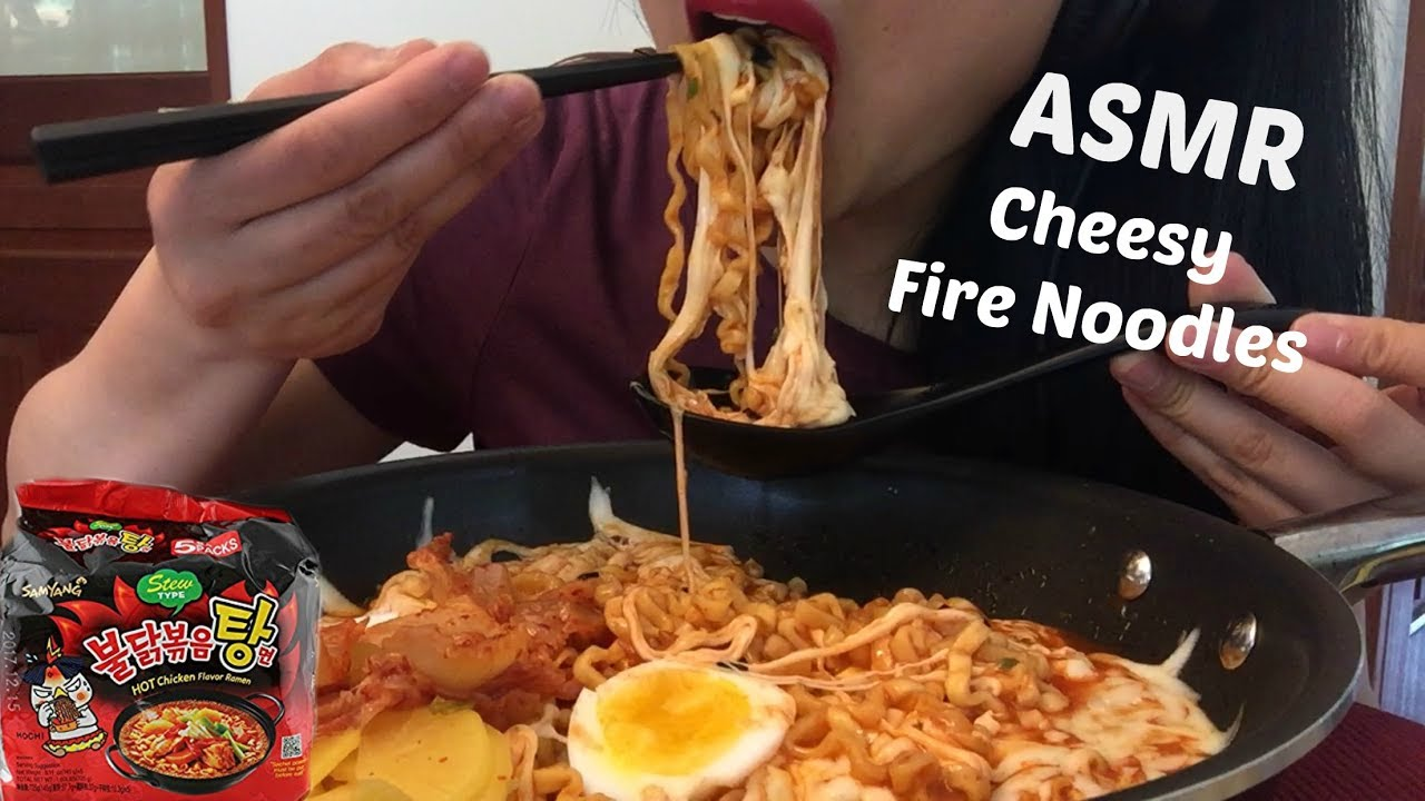 Asmr Extra Cheesy Spicy Ramen Fire Noodles Eating Sounds No Talking Sas Asmr Youtube Not just any videos, asmr videos. asmr extra cheesy spicy ramen fire noodles eating sounds no talking sas asmr