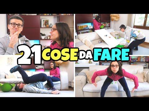 ALFABETO CHALLENGE Delle 21 COSE GIOCOSE Da Fare In Casa