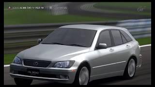 【GT5】 レクサス IS 300 スポーツ クロス '01【DEMO】,Silver Metallic