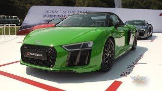 Audi R8 V10 plus Spyder at Monterey Car Week