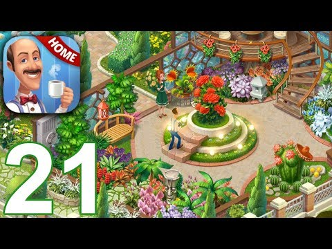 HOMESCAPES Story Walkthrough Gameplay Part 21 - Day 17 (iOS Android)