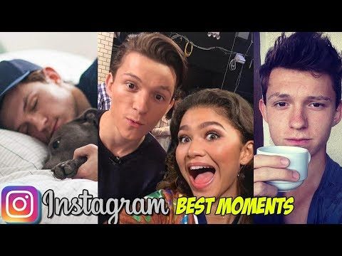 Spider-Man Tom Hollands Funniest Instagram Stories and Edits - Snapchat Moments 2018