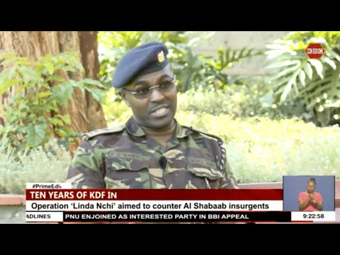 Download First hand experience from KDF soldier who escaped death by a whisker in Somalia, Lt.Col David Wando