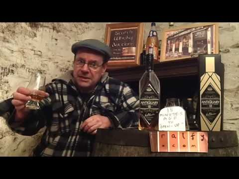 whisky review 611 - Antiquary 12yo Scotch Whisky