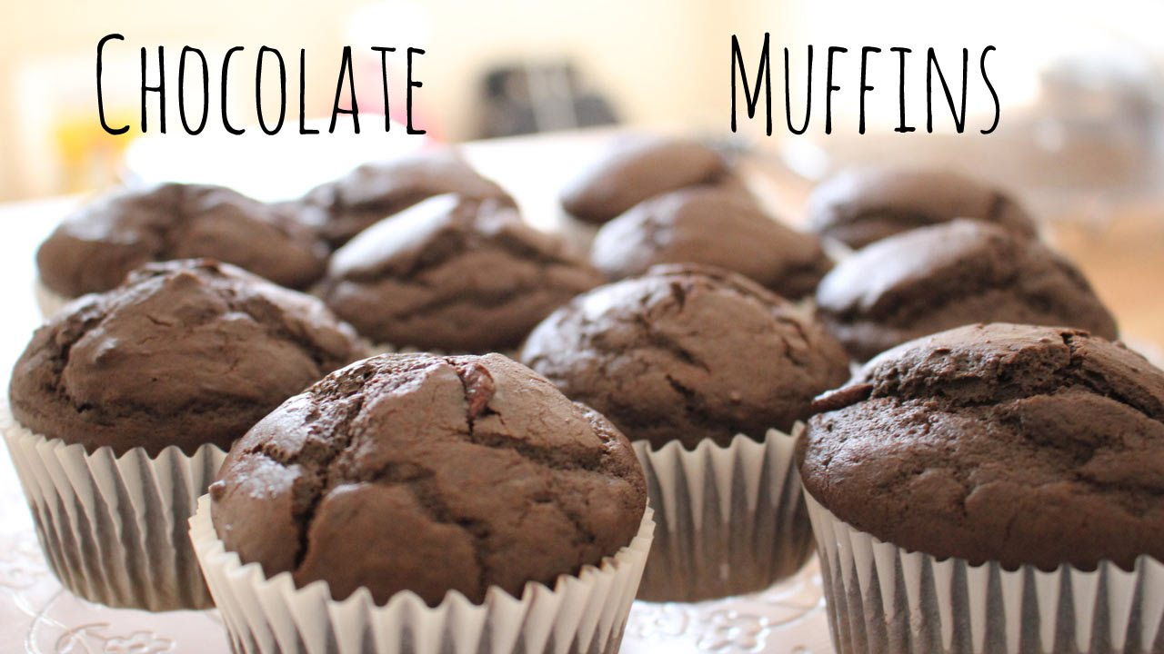 Chocolate Muffins Recipe | sweetco0kiepie - YouTube