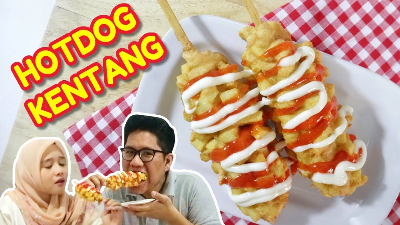 Resep Hotang Hotdog Kentang Ala Dapur Adis Youtube