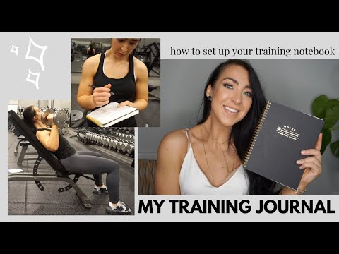 MY TRAINING JOURNAL | Setup, Why, And How I Use My Training Notebook