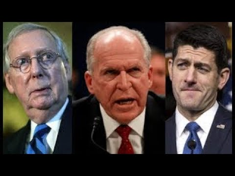 John Brennan Fires Warning Shot to Paul Ryan and Mitch McConnell After President Trump Ord