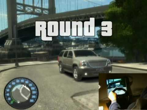 Grand Theft Auto IV with Steering Wheel PC