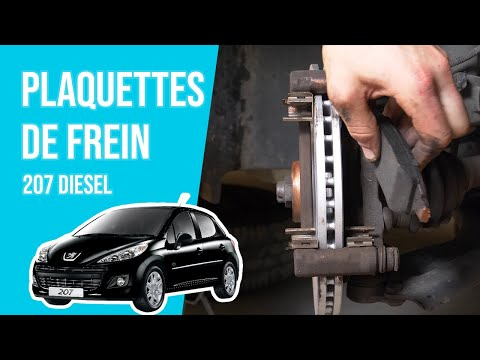 tuto peugeot 207 diesel changer les plaquettes youtube. Black Bedroom Furniture Sets. Home Design Ideas