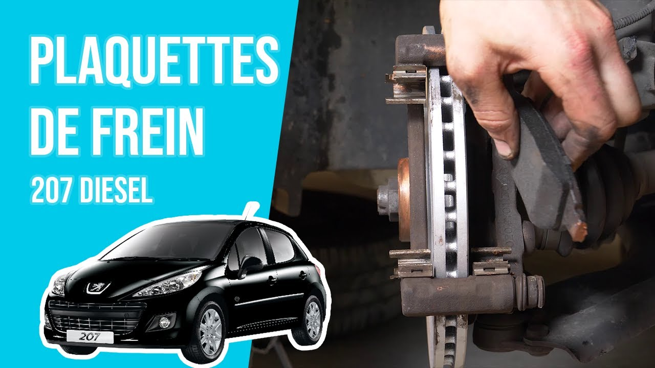 Peugeot 207 1.4 /& 1.4 HDI Disques de Freins avant et Plaquettes Neuf