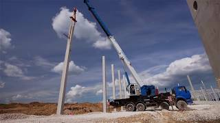видео: Строительство второй фазы Логистического комплекса DOCKLAND