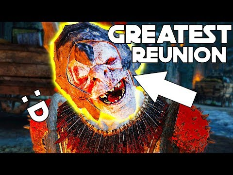 Shadow Of War - THE GREATEST REUNION with my ORC! Bolg the Joker has Return!