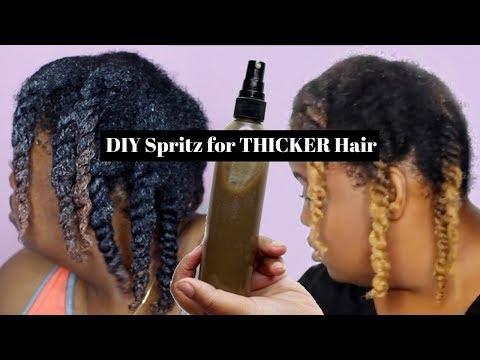 Ayurvedic Haircare | DIY Hair Growth Spritz | THICKER, LONGER HAIR
