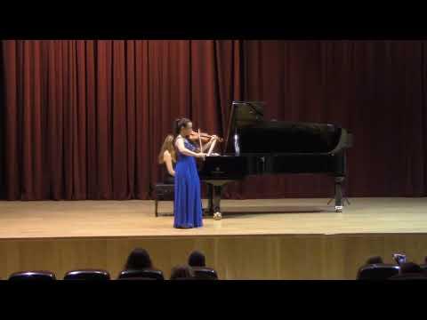 Mendelssohn Violin Concerto in E minor, Op. 64 - Victoria Carrión