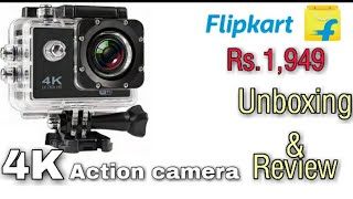 4k action camera unboxing