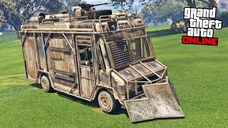 ARMORED BOXVILLE SPECIAL VEHICLE - GTA 5 ONLINE IMPORT/EXPORT DLC
