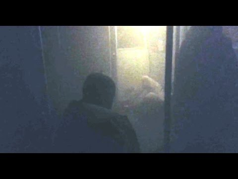 Raw video from inside smoke filled DC Metro train stuck at L'Enfant Plaza