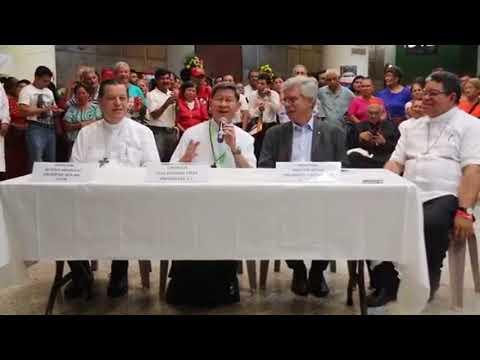 Conferencia de prensa por el Encuentro   Cáritas América Latina y El Caribe1