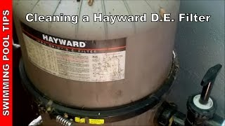 Cleaning a Hayward Pro-Grid, Micro-Clear, Super Star-Clear D.E. Filter