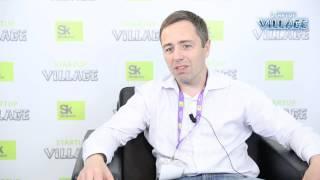 Победитель конференции Startup Village: компания Т8, Владимир Трещиков. Третье место