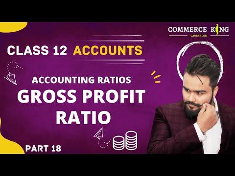 #111, class 12 Accounts (Accounting ratios: Gross profit ratio)