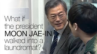 What if the president of South Korea came and folded your laundry with you? ENG SUB • dingo kdrama