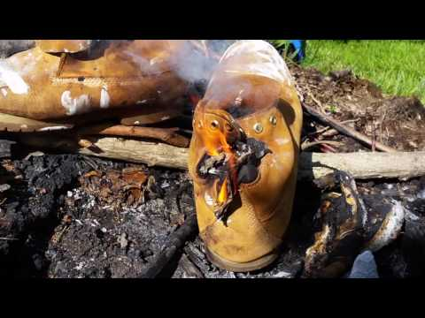 Timberland Boots Burn – Even the Leather