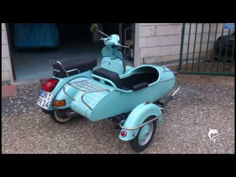 Vespa Cozy Gespann, Vespa Sidecar