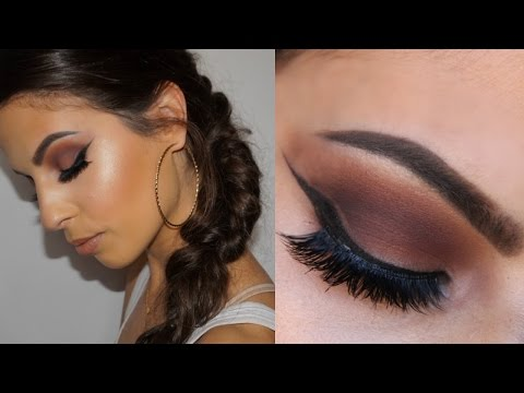 Grunge Glam Makeup Tutorial + Fishtail Braid Hair Tutorial
