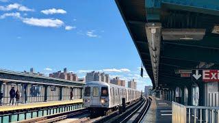 NYC Subway | R46 & R160 (F) Trains @ Ave X
