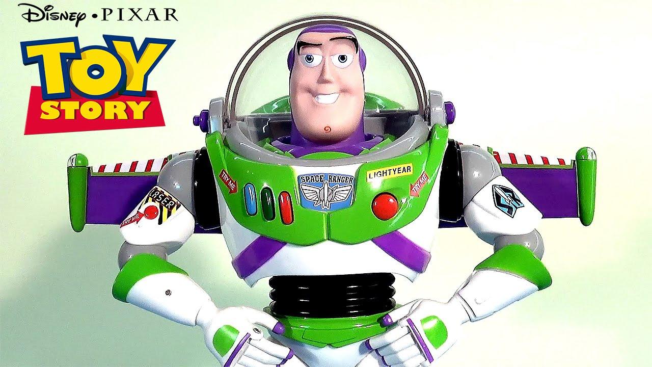 Обзор игрушки Баз Светик от Disney+Pixar - YouTube