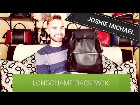 LONGCHAMP Le Foulonné Backpack REVIEW || JM