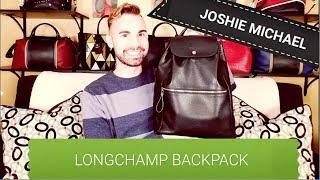 LONGCHAMP Le Foulonné Backpack REVIEW || JM - YouTube