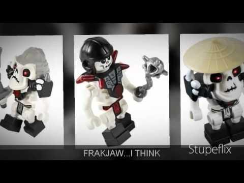Lego Ninjago 2011- All Of The Skeletons Minifigure - YouTube