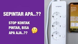 5+ Hal yang Bisa Dilakukan Stop Kontak Pintar — Review Koogeek Smart Outlet