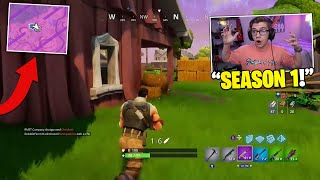 this Fortnite Mobile Glitch teleported me back to SEASON 1 (best glitch ever)