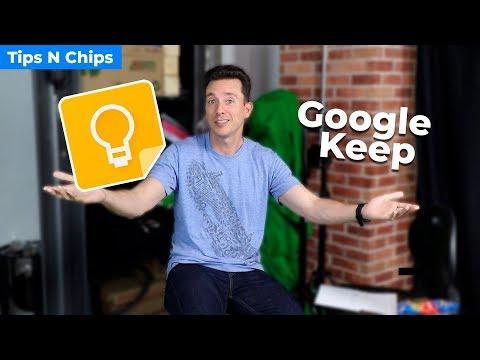 Tips para Google Keep - Tips N Chips